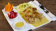 طريقة عمل الدجاج المشوي مع البطاطس المهروس الشيف