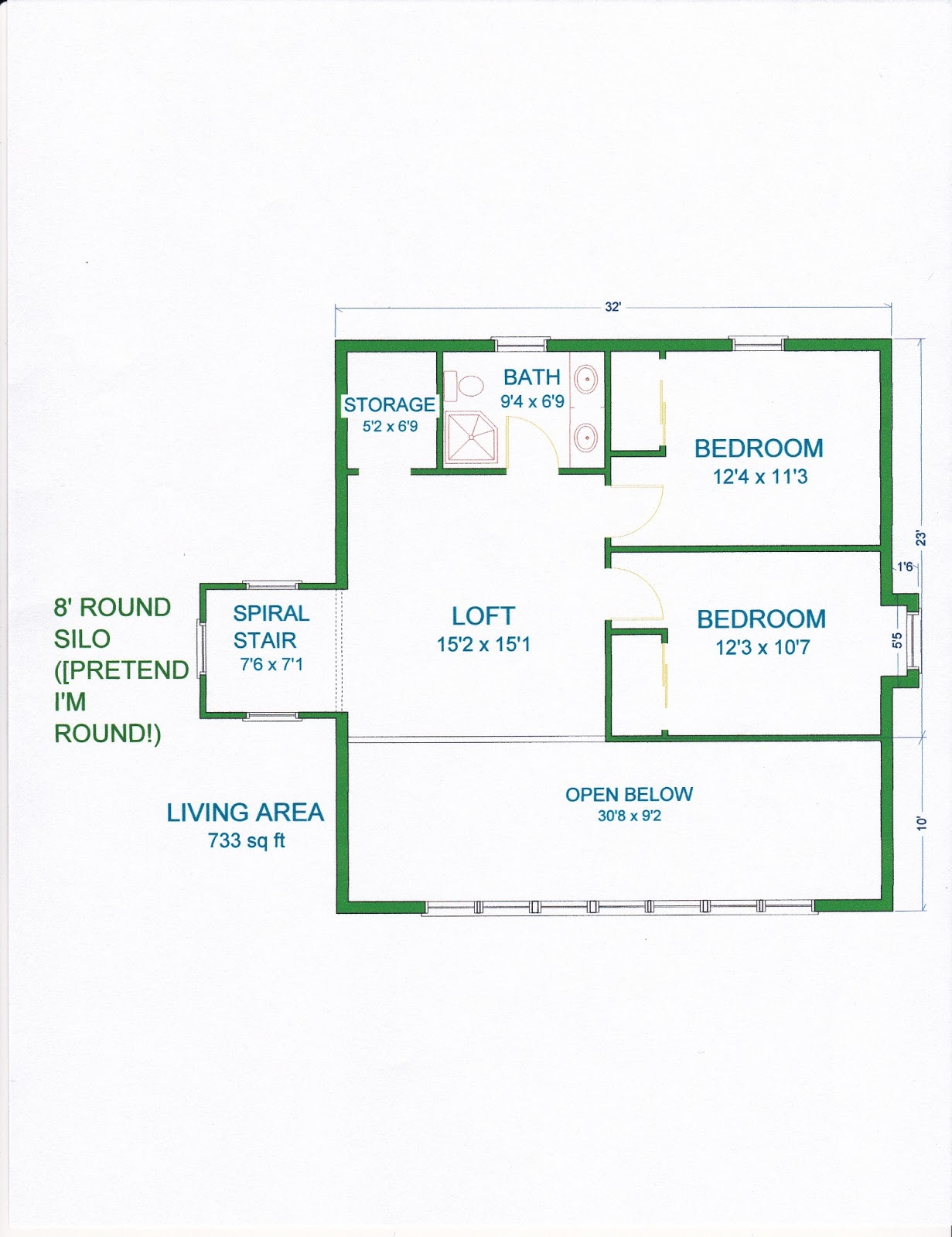 Grama Sues Floor Plan Play Land Smaller Gambrel Barn Home With Silo – Gambrel House Floor Plans