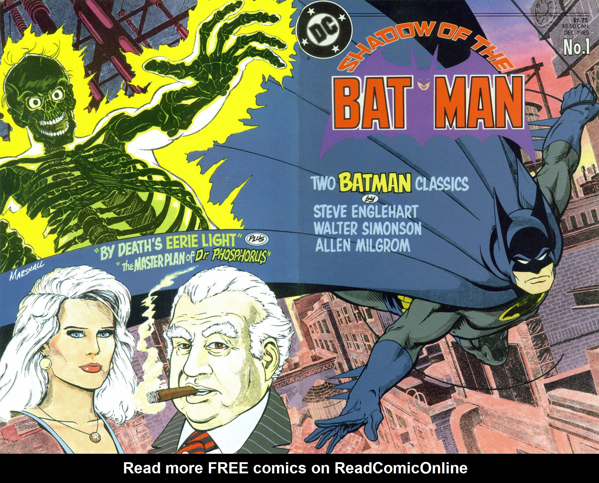 Read online Shadow of the Batman comic -  Issue #1 - 2