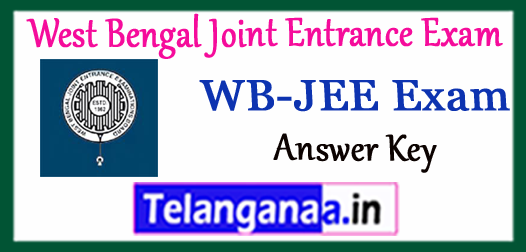 WB JEE West Bengal Joint Entrance Exam Result 2018 Answer Key