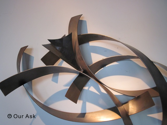 3D Sculpture Abstract Metal Wall Art