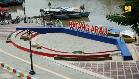 Kementerian PUPR Lakukan Penataan Kawasan Batang Arau, Lokasi Legenda Siti Nurbaya