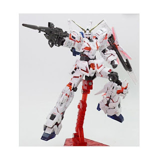 Bandai RG RX-0 Unicorn Gundam Premium Unicorn Mode Box Model Kit [1:144]