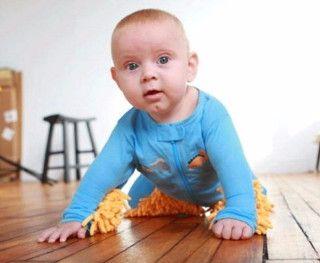 Bebé limpiador