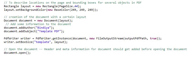 Ingenious Diary: Create PDF in Java using iText