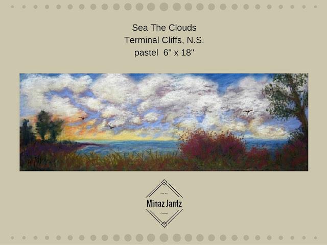 Sea The Clouds by Minaz Jantz