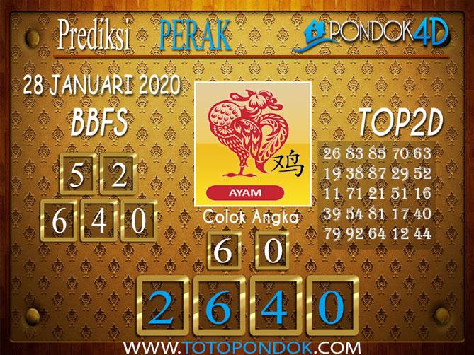 Prediksi Togel PERAK PONDOK4D 28 JANUARI 2020