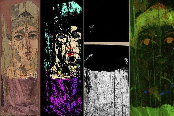 Scientists pioneer new way to analyze ancient artwork