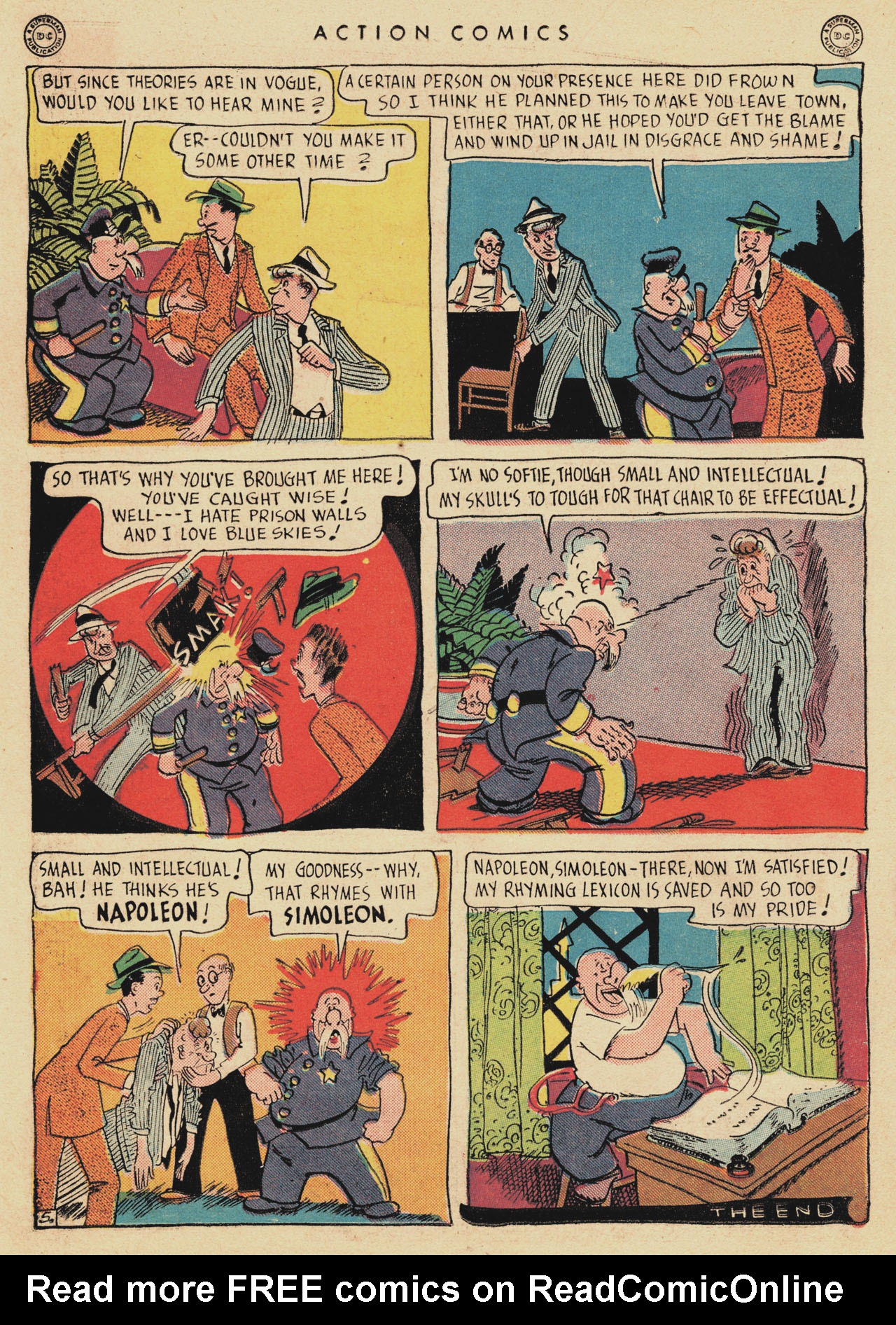 Read online Action Comics (1938) comic -  Issue #94 - 20