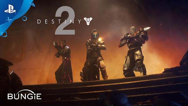 destiny 2 reveal trailer playstation 4