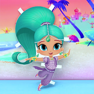 shimmer and shine activities