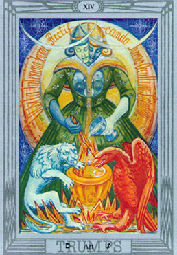 Art XIV Thoth Tarot Atu