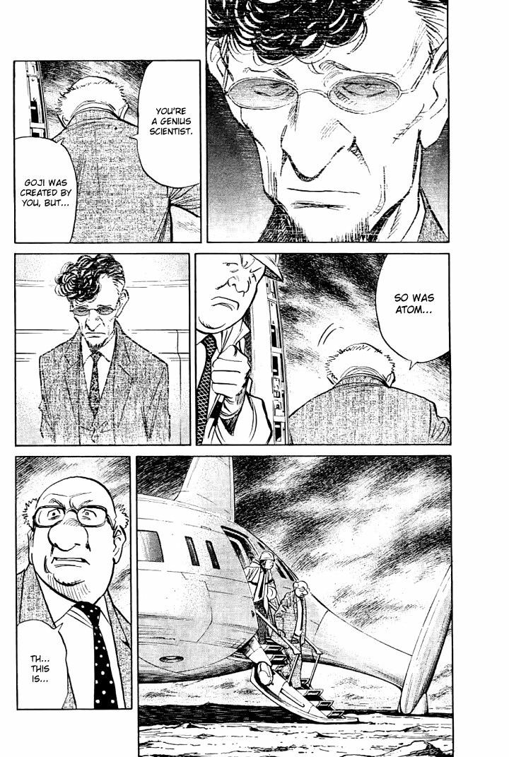 Page 12, Act 64: Sound of the End from Naoki Urasawa's Pluto Volume 8