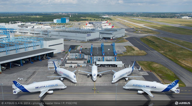 Airbus Beluga'lar © Airbus S.A.S 2014 - photo by master films P. PIGEYRE