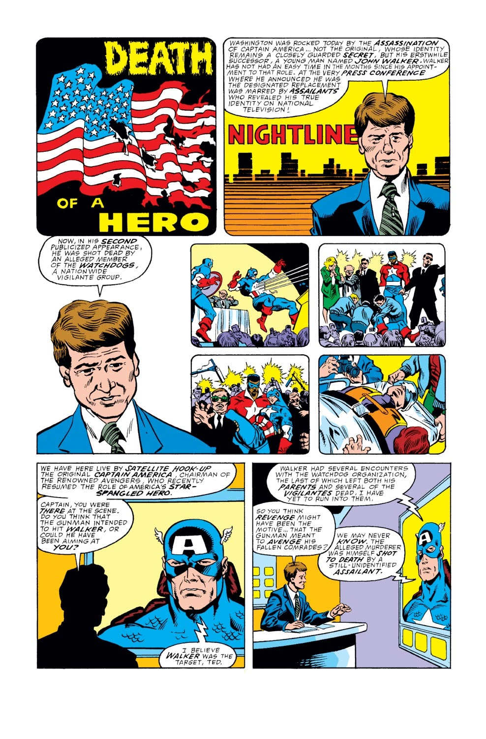 Captain America (1968) Issue #351 #283 - English 7