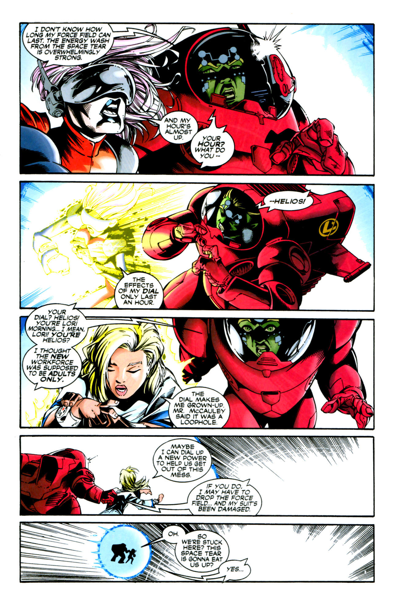 Legion of Super-Heroes (1989) 125 Page 1