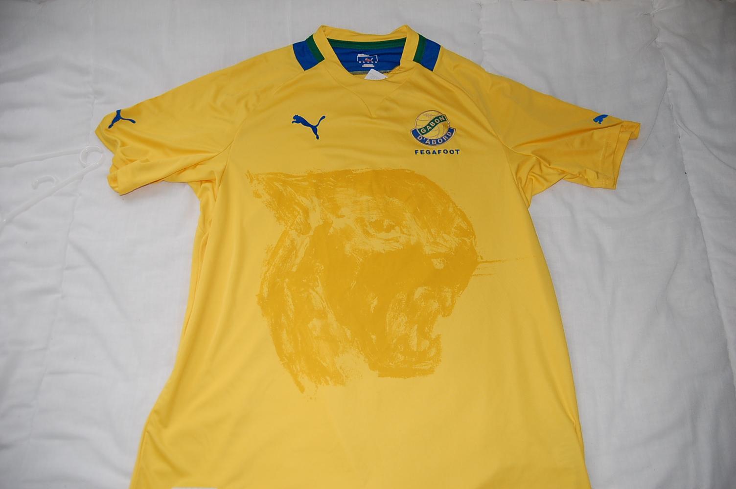 International Football Shirt Collection   Gabon 46006d45d