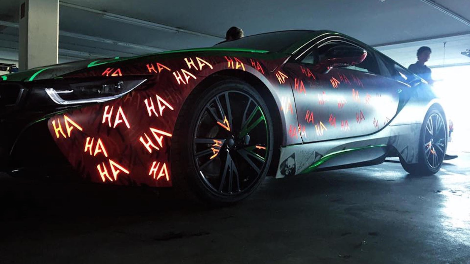 Joker-Inspired BMW i8 Is A Real Head Turner