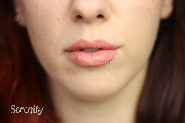 gerard cosmetics hydra matte liquid lisptick serenity review swatches lip