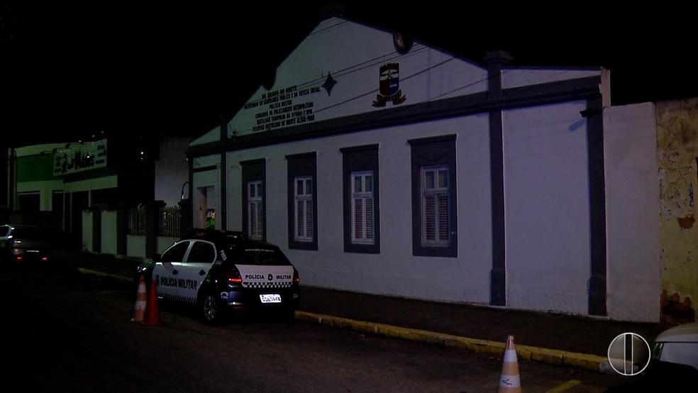 Carro do governador foi roubado em Monte Alegre (Foto: Reprodução/Inter TV Cabugi)