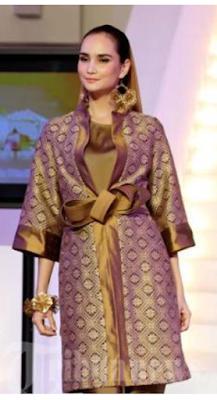 Model Baju Modern Dari Kain Songket