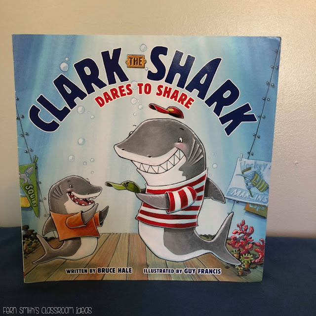 This is a whole class writing activity to accompany the story, Clark the Shark by Bruce Hale. Perfect for the first week of school to bind into a book or an emergency sub tub! My students love to read class created books and I'm sure your class does too! Do you do a shark or ocean unit? Your students will love this activity! By Fern Smith's Classroom Ideas
