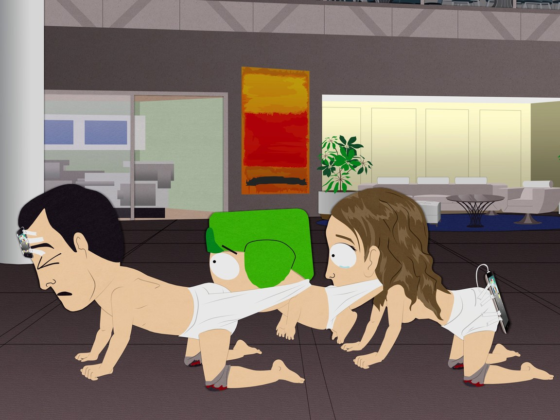 South Park - Season 15 Episode 01: HumancentiPad