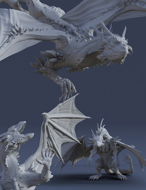 Dragon Reign Poses for Dragon 3 / Genesis 8 Female