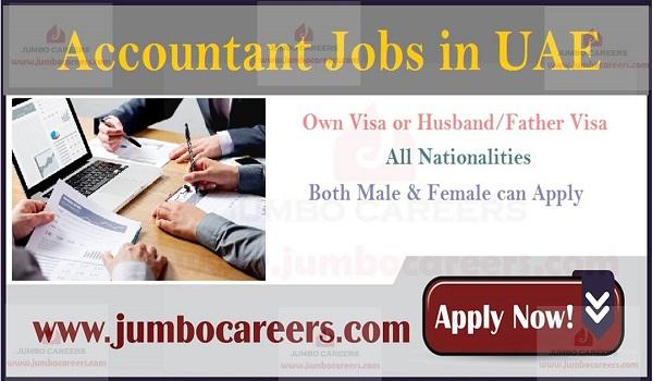 Accounts jobs in Dubai, Latest Dubai job openings,