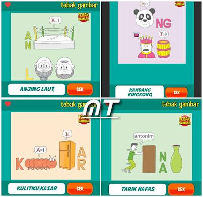 Jawaban tebak gambar level 75 nomor 1-4
