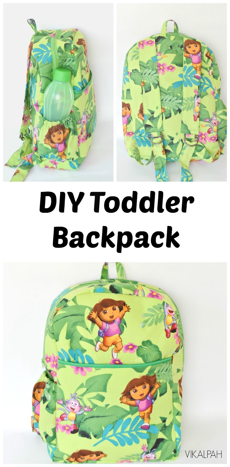 DIY Toddler Backpack