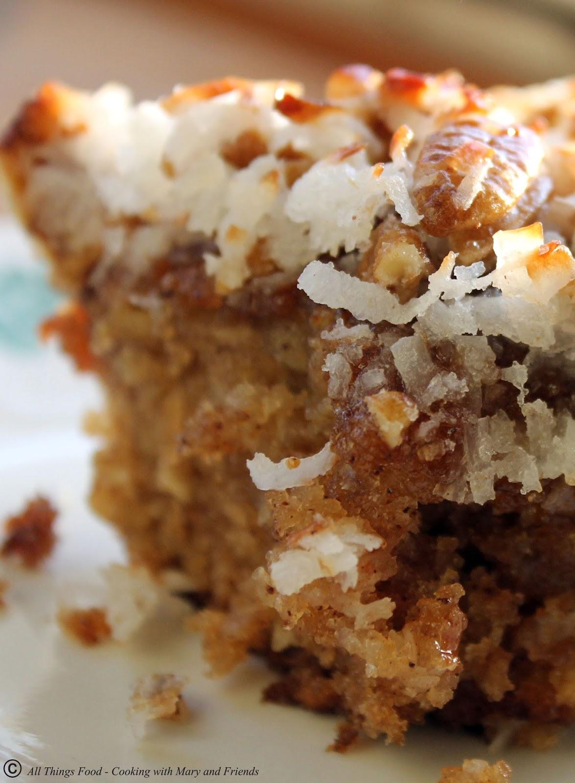Lazy Daisy Oatmeal Cake Recipe