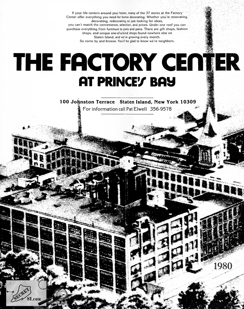 The SS White factory that was The Factory/Snoopy's rock club in Staten Island, New York
