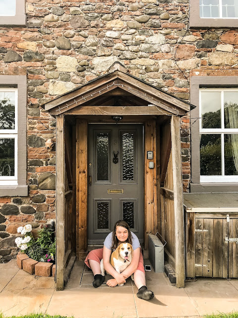 a dog friendly airbnb cottage on the solway coast, field view cottage, mandy charlton photographer, writer, blogger