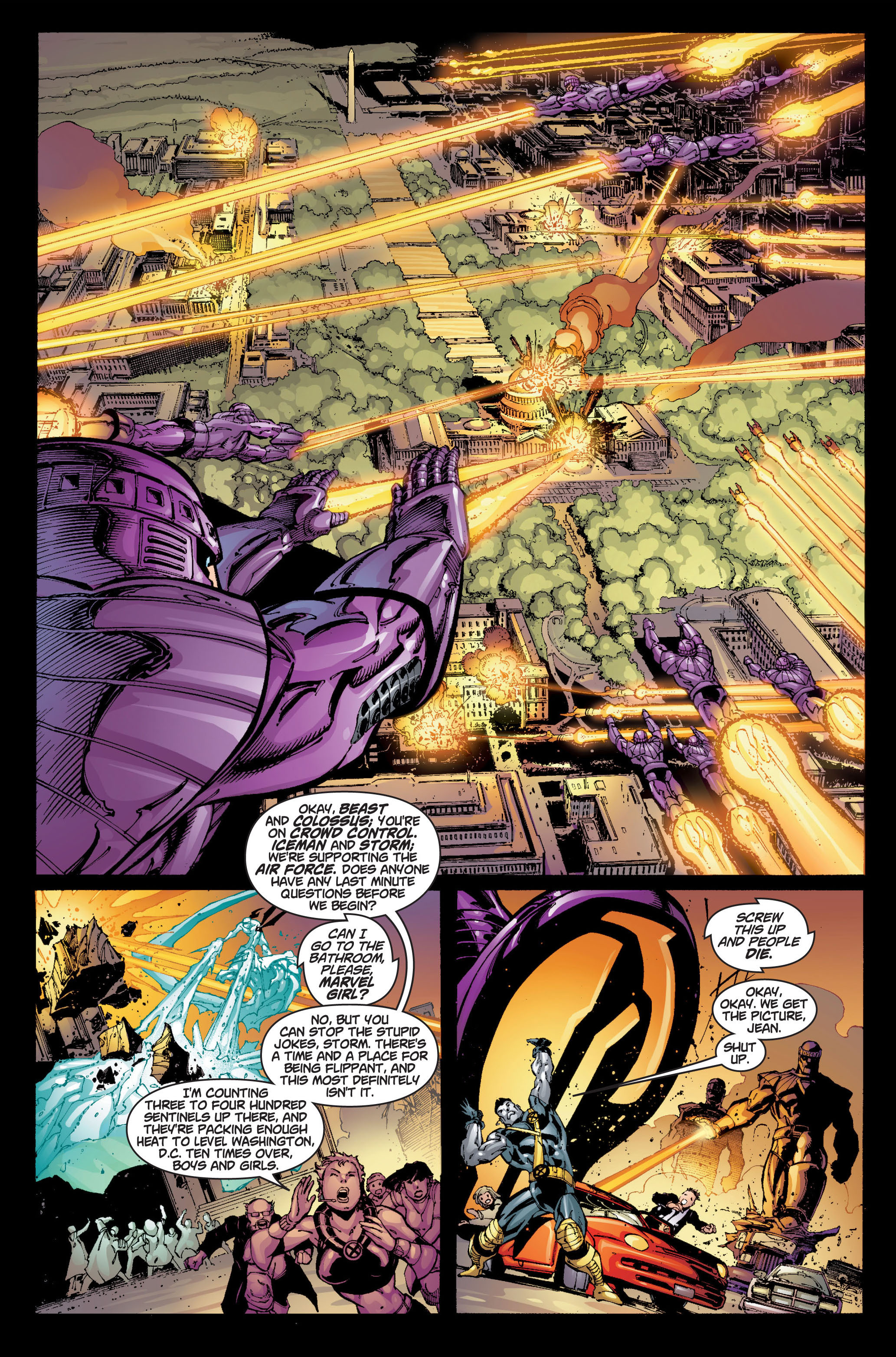 Read online Ultimate X-Men comic -  Issue #6 - 6