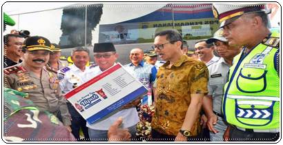 "H-2 Idul Fitri Lalu Lintas Di Sumatera Barat ""Lancar"""