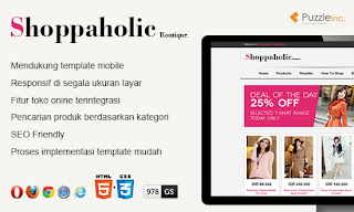Template Shoppaholic