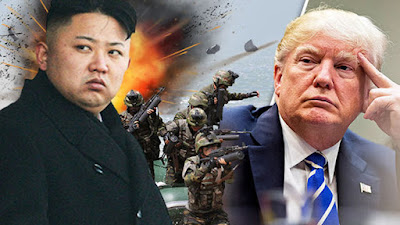 ئهمهریكا داوا له هێزهكانی دهكات بۆ شهڕی كۆریای باكوور لهئامادهباشیدا بن