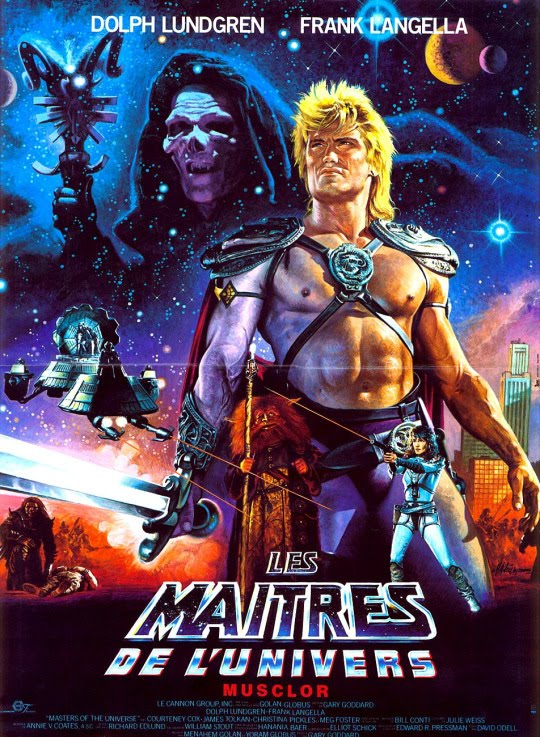Masters of the Universe (1987) Dual Audio Hindi 350MB BluRay 480p