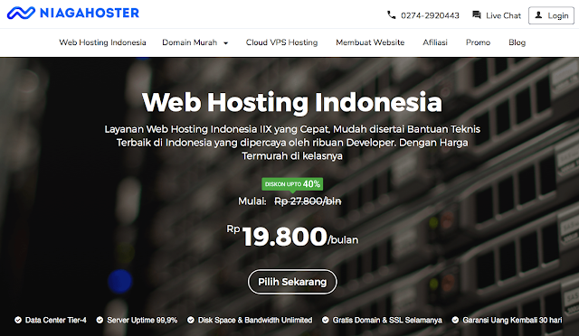 Review web hosting Niagahoster