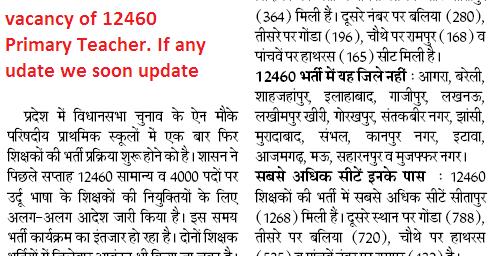 Syllabus hindi in uptet PDF