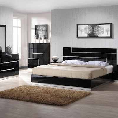 black lacquer bedroom furniture