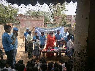Mission Education team Badarpur ( Delhi) has distributed stationery items to 155 needy students