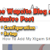 How to Create a Simple Mobile Wap Blog On Xtgem Site Builder