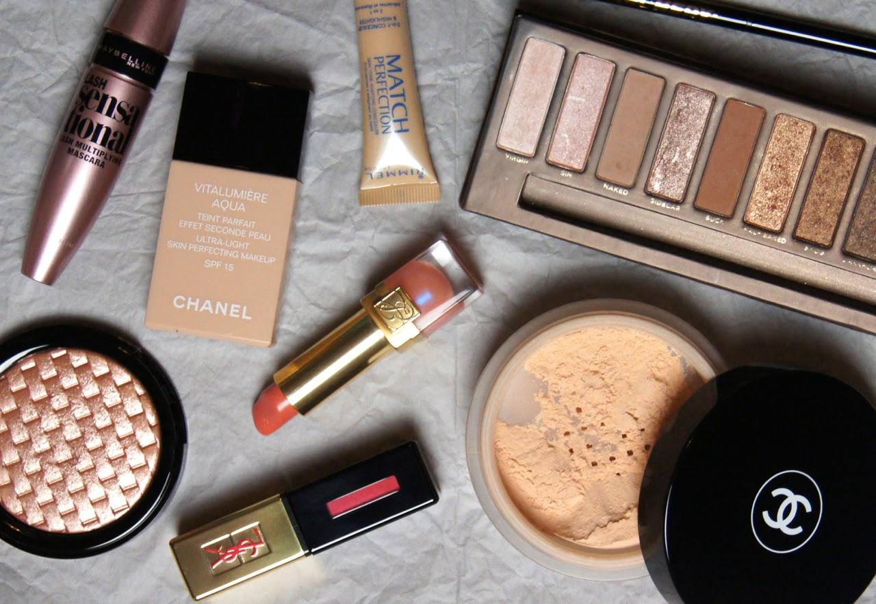 valentine's makeup look glowing skin matte eyes 3 lip options