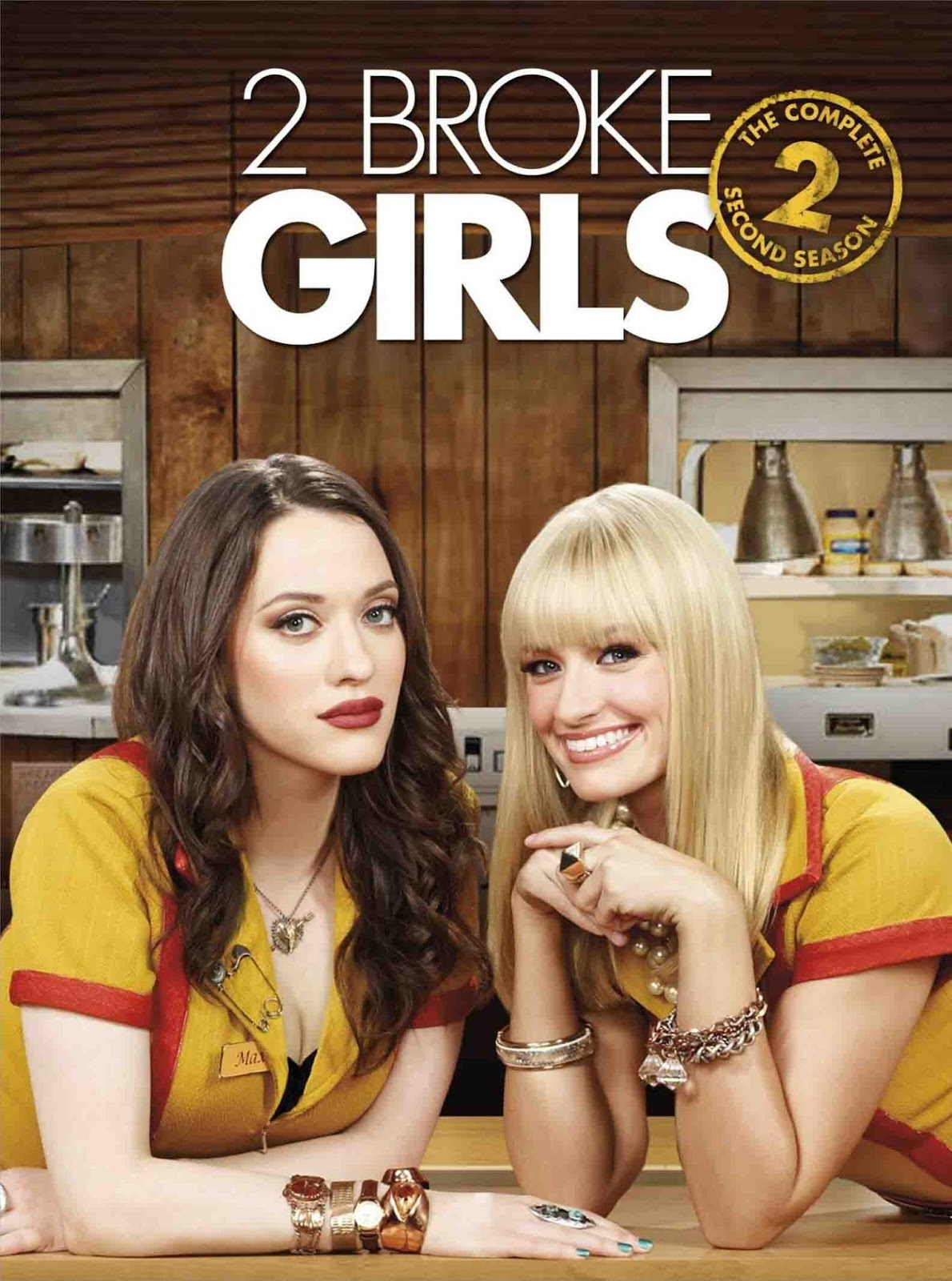2 Broke Girls 2ª Temporada Torrent - BluRay 720p Dublado