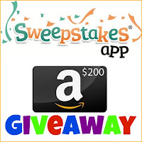 Enter for your chance to win a $200 Amazon GC when you download the Sweepstakes App. Ends 8/9