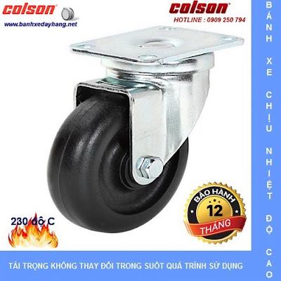 Các loại bánh xe đẩy chịu nhiệt độ cao Colson Caster Mỹ banhxedaycolson.com