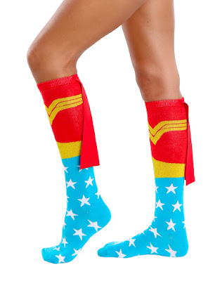 Wonder Woman Socks with Cape