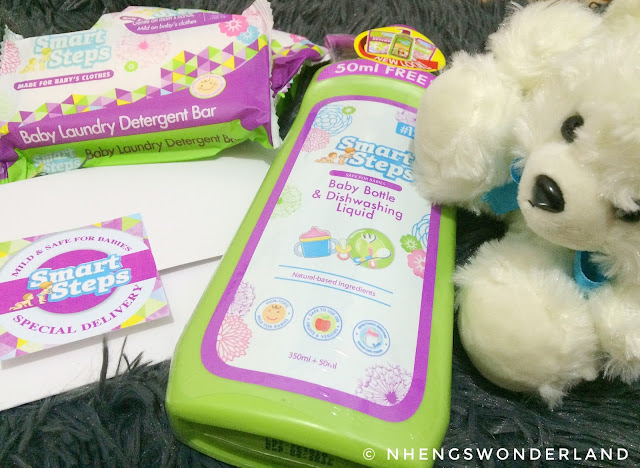 Smart Steps Baby Laundry Detergent and Baby Bottle & Dishwashing Liquid